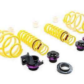 KW Suspension Height Adjustable Spring Kit Porsche 911 (991), Carrera 2/4, S & GTS, Coupe & Convertible; with PDCC