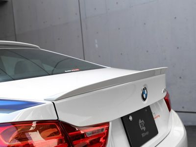 3D Design - Urethane Trunk Spoiler - BMW F32 4-Series