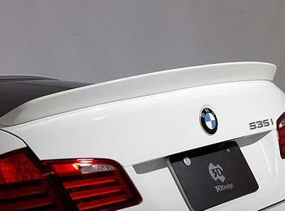 3D Design - Urethane Trunk Spoiler - BMW F10 5-Series & M5