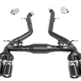 Eisenmann F87 M2 Competition Black Series Performance Exhaust + Carbon Tip Set - Race