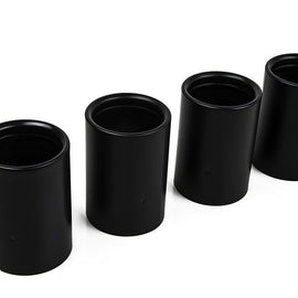 IND F10 M5 / F06 M6 / F1X M6 Coated Exhaust Tip Set - Matte Black