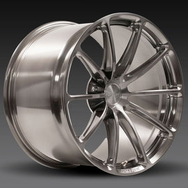 Forgeline GT1 5-Lug one piece monoblock wheel set