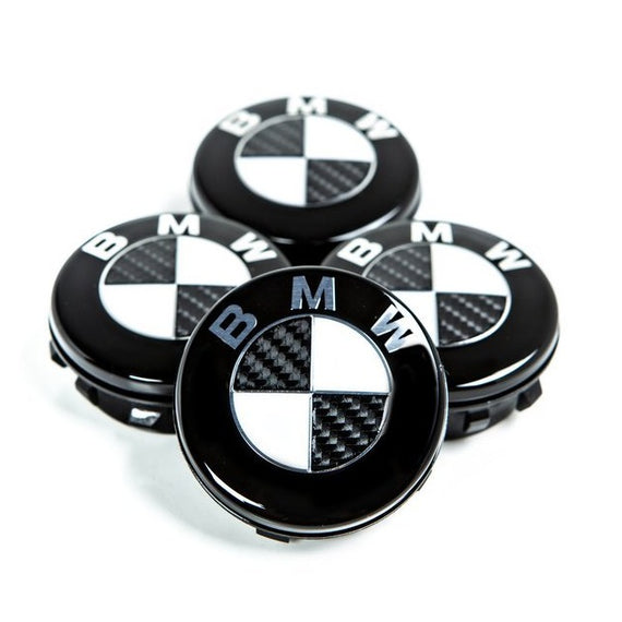 IND Carbon Floating Wheel Center Cap Set - 72.6mm