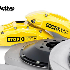E46 M3 Stoptech Big Brake Kit - Front (Except ZCP & CSL)