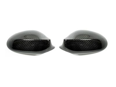 Autotecknic - Carbon Fiber Mirror Covers - BMW E82/E88 1-Series