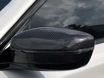 AutoTecknic - Carbon Fiber Replacement Mirror Covers - BMW G30 5-Series