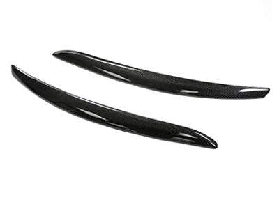 Autotecknic - Matte Black Headlight Covers - BMW E92/E93 3-Series PRE-LCI