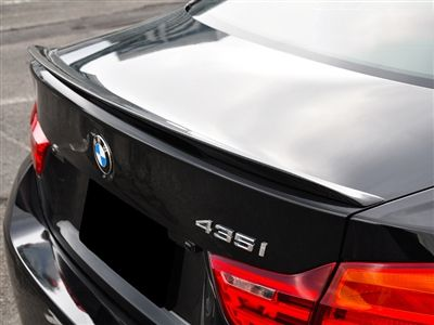 Autotecknic - Vacuumed Carbon Fiber Performante Trunk Spoiler - BMW F32 4-Series