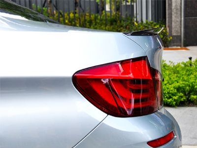 Autotecknic - Vacuumed Carbon Fiber Performante Trunk Spoiler - BMW F10 5-Series/M5