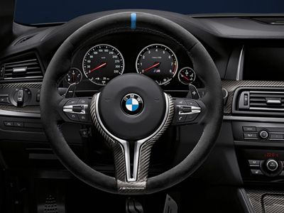 BMW - M Performance Alcantara Steering Wheel - BMW F8X M3 & M4