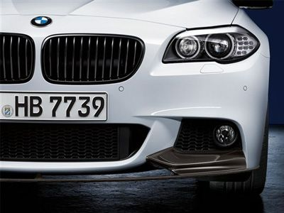 BMW - M Performance Carbon Fiber Front Lip Splitter - BMW F10 5-Series
