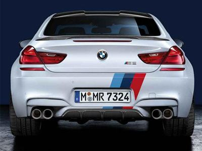 BMW - M Performance Carbon Fiber Rear Diffuser - BMW F12/F13/F06 M6