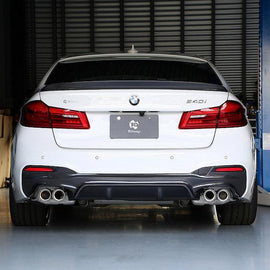 3D Design G30 5-Series Carbon Rear Diffuser - Type 2