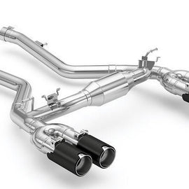 Eisenmann F87 M2 Competition Performance Exhaust + Carbon Tip Set - Race