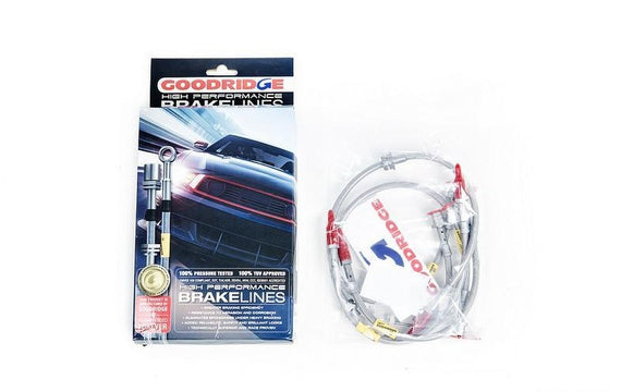 Goodridge F10 M5 Stainless Steel Brake Line Set