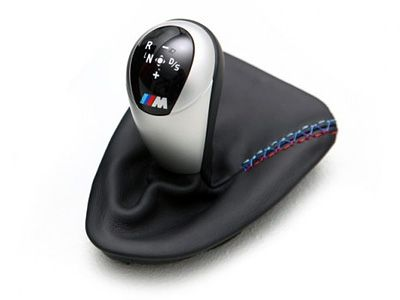 iND - M Tri-Color Stitch Shift Boot - BMW E9X M3 DCT/6-SPD