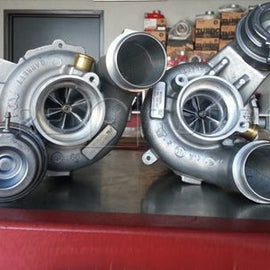 Pure Turbos - Stage 1 Turbo Upgrade - BMW S63/S63tu