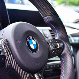 Dinmann - Carbon Fiber Steering Wheel - BMW F-Chassis
