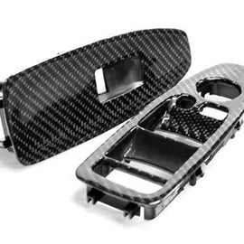 Dinmann - Carbon Fiber Window Control Trims - BMW F80 M3 & F3X 3-Series