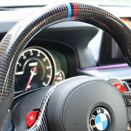 Dinmann - Carbon Fiber Steering Wheel - BMW F90 M5