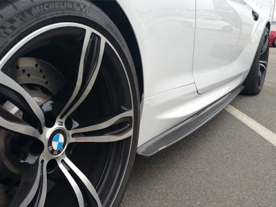 Dinmann - Carbon Fiber Side Skirts - BMW F12/F13 M6