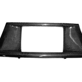 Dinmann - Carbon Fiber Navigation Screen Trim - BMW E70 X5/X5M & E71 X6/X6M