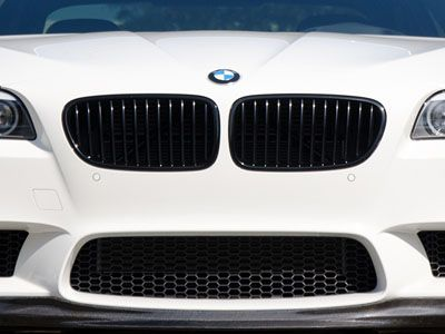 BMW - M Performance Gloss Black Kidney Grilles - BMW F10 M5