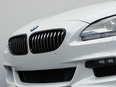 BMW - M Performance Gloss Black Kidney Grilles - BMW F12/F13/F06 6-Series Pre-LCI