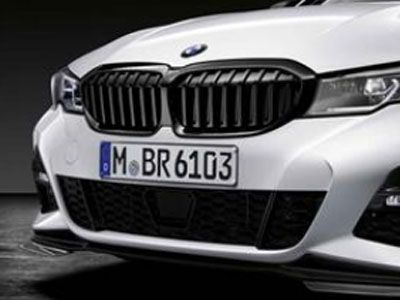 BMW - M Performance Gloss Black Kidney Grilles - BMW G20 3-Series