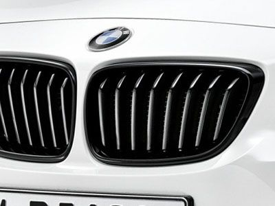 BMW - M Performance Gloss Black Kidney Grilles - BMW F22/F23 2-Series