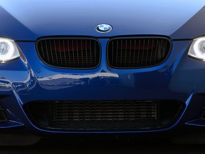 BMW - M Performance Gloss Black Kidney Grilles - BMW E92/E93 3-Series LCI