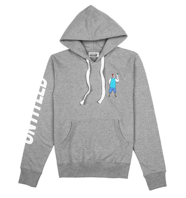 Chaser Grey hoodie