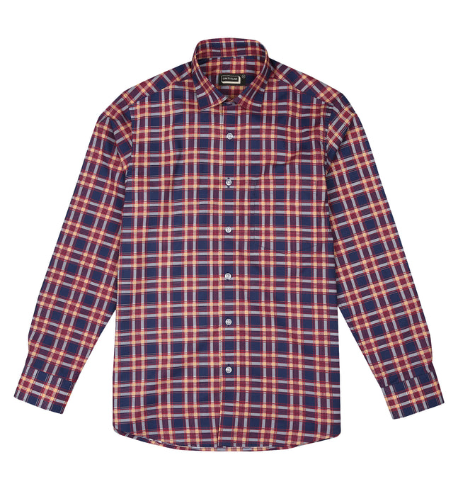 Checkers Blue shirt