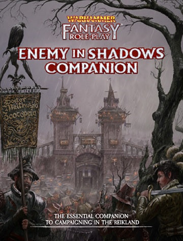 WARHAMMER FANTASY RPG: ENEMY IN THE SHADOWS VOL 1 COMPANION | BD Cosmos