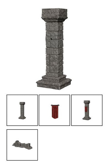 WIZKIDS MINIS: WV11 PILLARS AND BANNERS | BD Cosmos