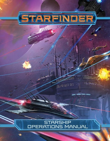 STARFINDER RPG STARSHIP OPERATIONS MANUAL HC | BD Cosmos
