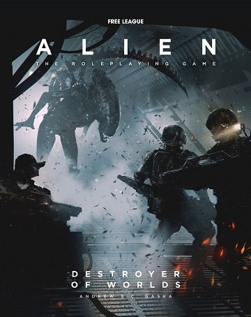 ALIEN RPG: DESTROYER OF WORLDS | BD Cosmos