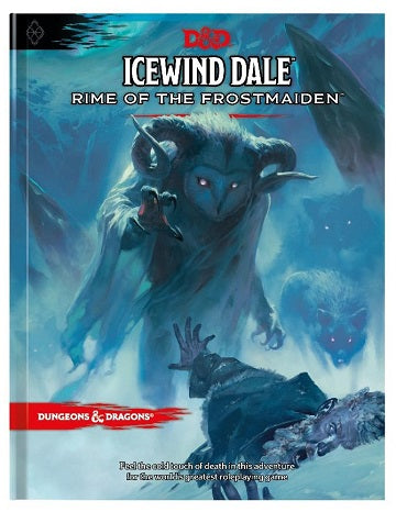 D&D RPG: ICEWIND DALE RIME OF THE FROSTMAIDEN [HC] | BD Cosmos