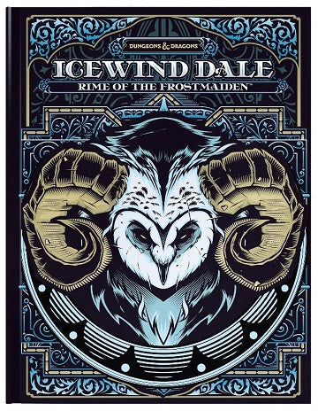 D&D RPG:  ICEWIND DALE RIME OF THE FROSTMAIDEN  [HC] HOBBY EXCLUSIVE COVER | BD Cosmos