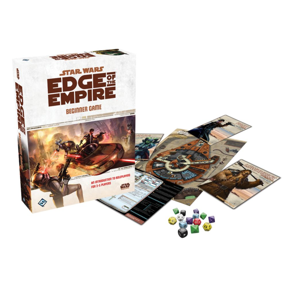 EDGE OF THE EMPIRE: BEGINNER BOX | BD Cosmos