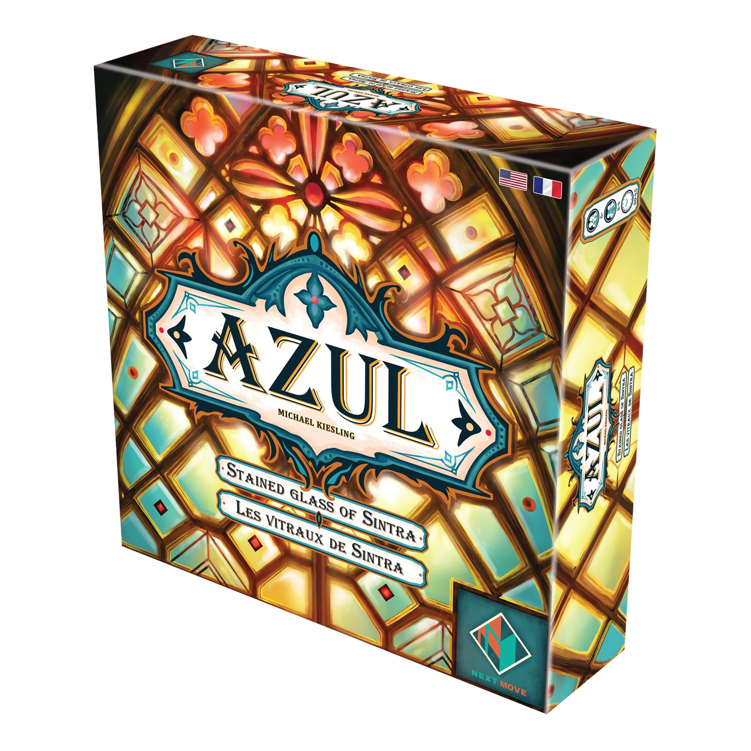 AZUL: STAINED GLASS OF SINTRA [MULTI-LANGUAGE] | BD Cosmos