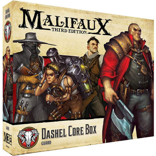 MALIFAUX 3E: GUILD - DASHEL CORE BOX | BD Cosmos