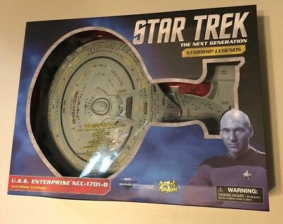 STAR TREK THE NEXT GENERATION STARSHIP LEGENDS: U.S.S. ENTERPRISE NCC-1701-D | BD Cosmos