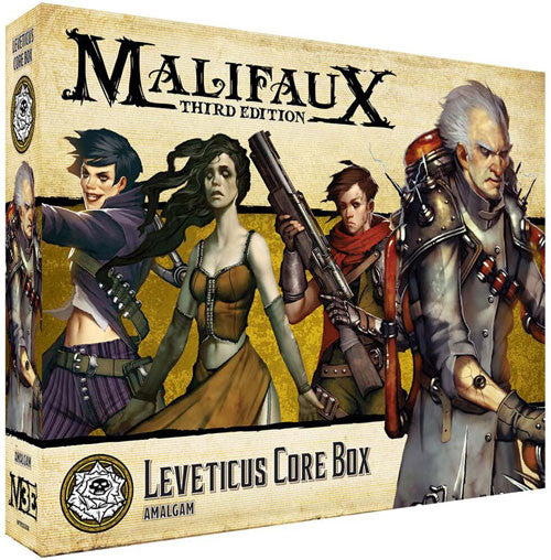 MALIFAUX 3E: OUTCASTS - LEVETICUS CORE BOX | BD Cosmos