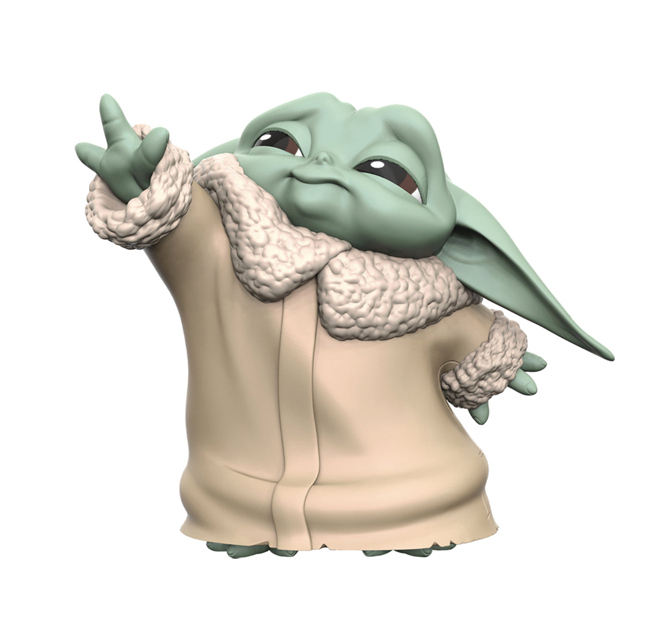 SW BABY YODA THE FORCE FIGURINE | BD Cosmos