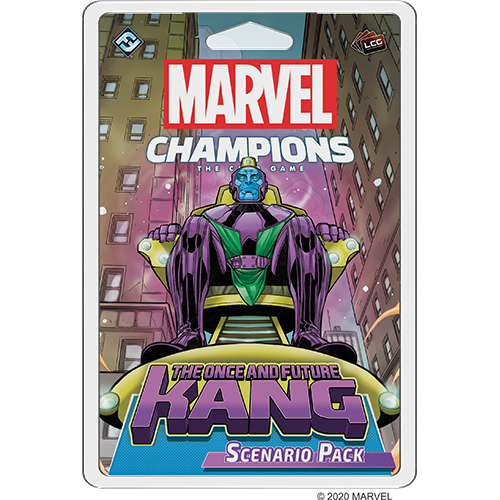 MARVEL CHAMPIONS LCG: THE ONCE AND FUTURE KANG SCENARIO [FRE] | BD Cosmos