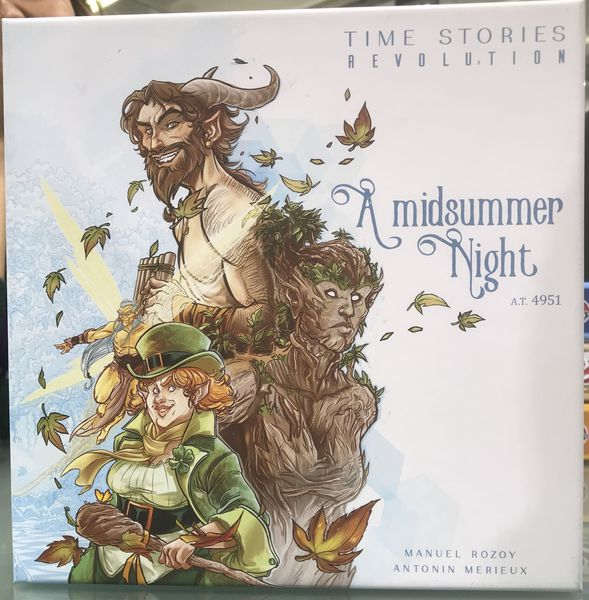 T.I.M.E STORIES REVOLUTION : A MIDSUMMER NIGHT (FR) | BD Cosmos