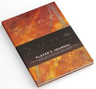 DUNE RPG: PLAYER'S JOURNAL *PRE-ORDER* | BD Cosmos