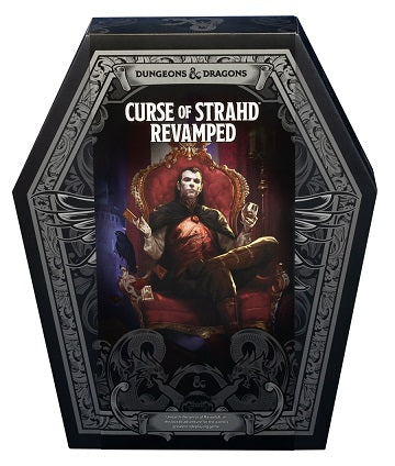 D&D RPG: CURSE OF STRAHD REVAMPED LIMITED EDITION | BD Cosmos