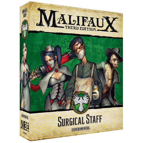 MALIFAUX 3E: RESURRECTIONISTS - SURGICAL STAFF | BD Cosmos